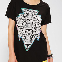 Truly Madly Deeply Prism Leopard Tee