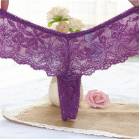 Plus Size! Hot! Come From Original Foreign Order Balance, Letter Printed Sexy Lace thong, Women G-string