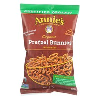 Annie's Homegrown Organic Pretzel Bunnies - Case Of 12 - 7 Oz.