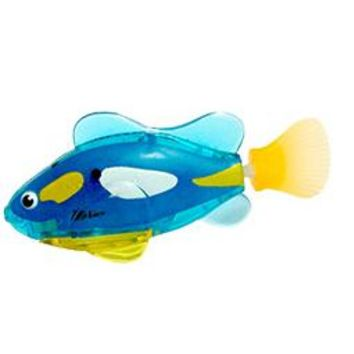Swimming Pool beach 1Pcs Mini Funny Baby Bath Toys Led Light Fish Activated Battery Powered Robot Fish For Baby Shower Bath Swimming AccessoriesSwimming Pool beach KO_14_1