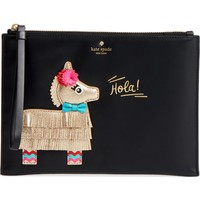 kate spade new york piñata appliqué medium bella pouch | Nordstrom
