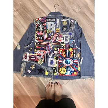 NEW My Planet Denim Jacket