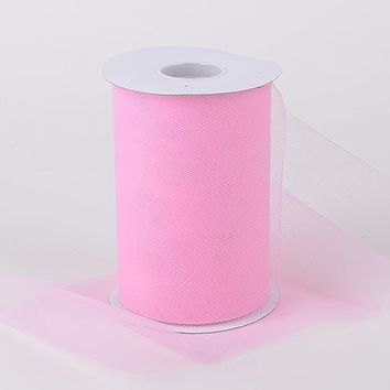 Pink Tulle Roll