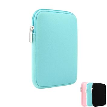 """7.9"""" 9.7"""" Soft Tablet Case Cover for ipad mini 2 3 4 air 1 2 Universal Liner Sleeve Tablets Case Zipper Pouch Bag"""