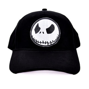 Angry Jack Skellington Halloween Hat Baseball Cap