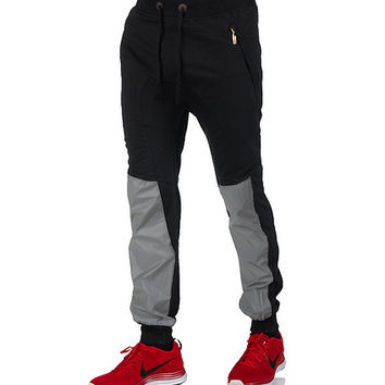 3M REFLECTIVE FLEECE JOGGER PANTS - Black - AMERICAN STITCH