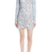 Self-Portrait 3D Floral Minidress | Nordstrom
