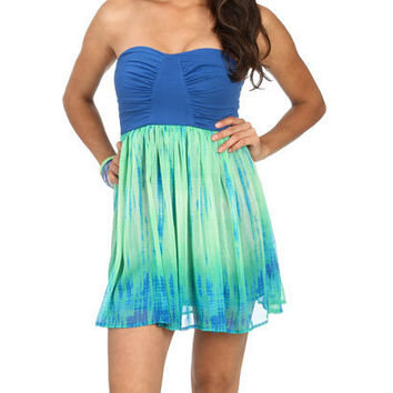 2fer Water Color Dress | Shop Dresses at Wet Seal