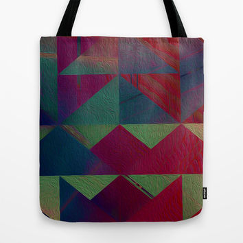 Triangle Trip Tote Bag by DuckyB (Brandi)