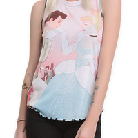 Disney Cinderella Stroke Of Midnight Girls Tank Top | Hot Topic