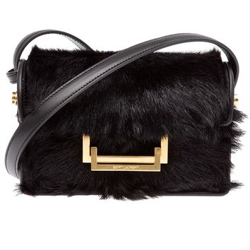 Saint Laurent Alpaca 'Lulu' Shoulder Bag
