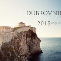 2015 wall calendar - 2015 dubrovnik croatia art calendar,  fine art photography planner - travel, europe, mediterannean decor calendar