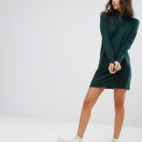 Noisy May Tall High Neck Sweater Dress at asos.com