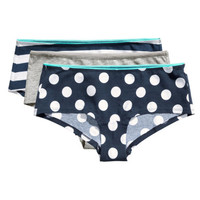 H&M 3-pack Cotton Hipster Briefs $9.99