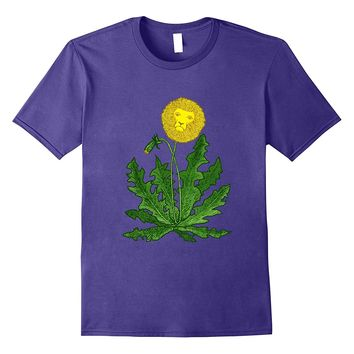 DANDY LION Shirt Dandelion FUNNY SURREAL GARDEN WEED SO CUTE
