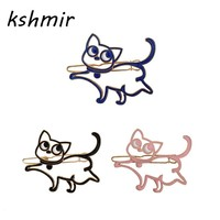 Kshmir Animated cartoon sailor moon moon cat hairpin hair clip of girl jewelry accessories