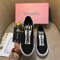 CHANEL Fashion and leisure sports shoes