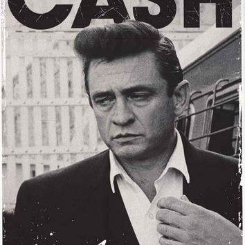Johnny Cash Young Portrait Poster 24x36