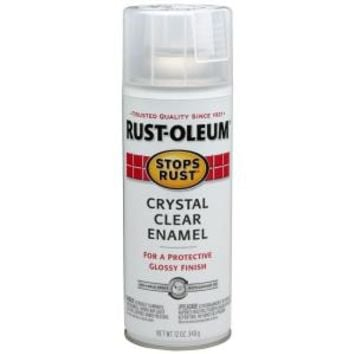 Rust-Oleum Stops Rust 12 oz. Gloss Crystal Clear Spray Paint-7701830 - The Home Depot