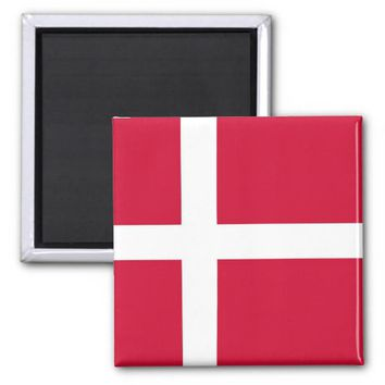 Magnet with Flag of Denmark