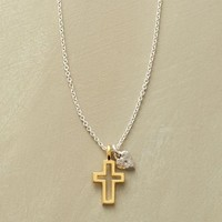 Cross And Heart Necklace | Robert Redford's Sundance Catalog