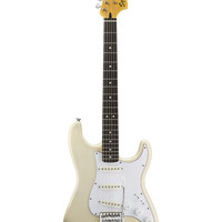 Squier by Fender Vintage Modified Stratocaster Electric Guitar, Rosewood Fretboard - Vintage Blonde