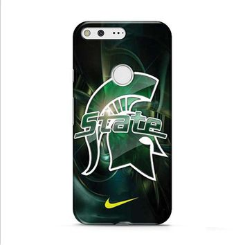 Michigan State nike Google Pixel XL 2 Case