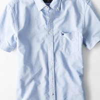 AEO Men's Short Sleeve Oxford Shirt