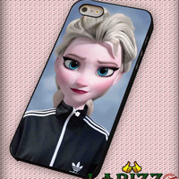 "elsa adidas frozen for iPhone 4/4s, iPhone 5/5S/5C/6/6+, Samsung S3/S4/S5 Case ""08"""