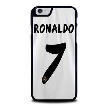 cristiano ronaldo iphone 6 6s case cover  number 1