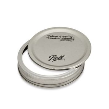 Kerr® Wide-Mouth Jar Lids with Bands (Set of 12)