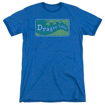 Dragon Tales - Logo Distressed Adult Heather