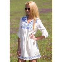 In The Country Dress-Ivory