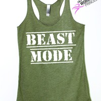 Beast Mode Workout Tank for Women