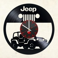 JEEP Vinyl Record Clock1