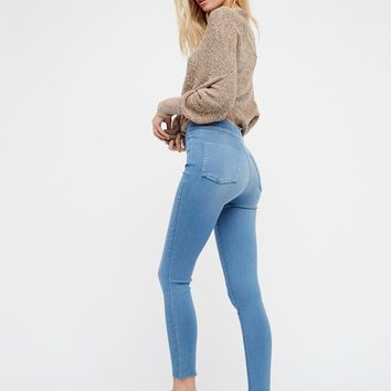 Free People Easy Goes It Denim Legging