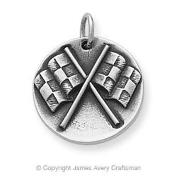 Checkered Flag Charm from James Avery