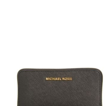 MICHAEL Michael Kors 'Jet Set Travel' Multifunction Phone Case | Nordstrom
