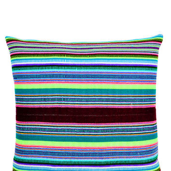 Hacienda Stripe Pillow, 16""