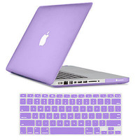 "2IN1 Hard Rubberized Cover Case Shell F Macbook Air/Pro/Retina 11 13"" 15"" Laptop"
