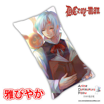 New Allen Walker - D Gray Man Male Anime Dakimakura Rectangle Pillow Cover Custom Designer Rokudo-Aurora ADC133