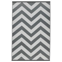 Indo Laguna Paloma and White Geometric Area Rug (6' x 9') | Overstock.com Shopping - The Best Deals on One of a Kind