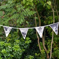 Personalised 12 Flag Photo Bunting