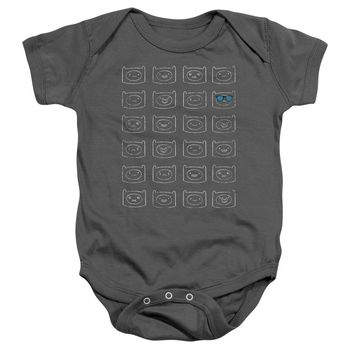 Adventure Time - Finn Faces Infant Snapsuit Officially Licensed Baby Clothing