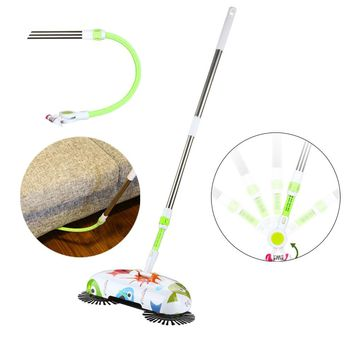 New Arrival 360 Rotary Home Use Magic Manual Telescopic Floor Dust Sweeper