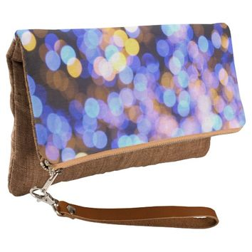 awesome polka dots clutch