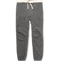 Beams Plus - Slim-Fit Canvas-Trimmed Cotton-Blend Sweatpants | MR PORTER