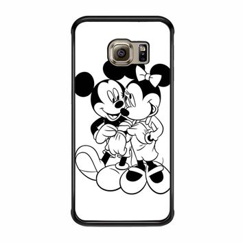 Mickey And Minnie Mouse Samsung Galaxy S6 Edge Case