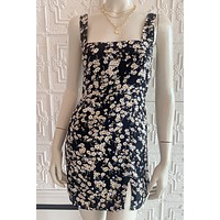P&M Fitted Floral Mini Dress