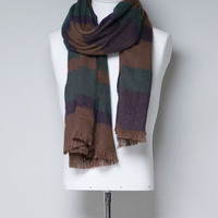 CHECKED SCARF WITH FRINGING - Man - New this week - ZARA United States